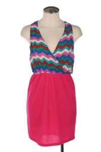 Hot_Pink_V-Neck_Dress_large